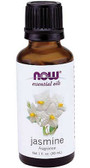 Jasmine Oil 1 oz Now Foods, Warm, Exotic Aroma