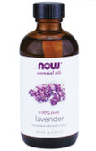 Lavender Oil 4 oz Now Foods Oils, Relaxation Aromatherapy