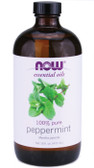 Now Foods Peppermint Oil 16 oz, Pure and Natural