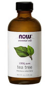 Tea Tree Oil 4 oz Now Foods Aromatherapeutic Oil