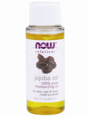 Now Foods Jojoba Oil Pure 1 oz, Skin, Hair & Body