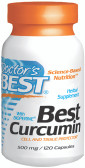 Doctor's Best Curcumin C3 500 mg 120 Caps, Immune Health