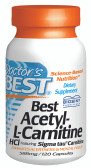 Doctor's Best Acetyl-L-Carnitine 588 mg 120 Caps, Memory