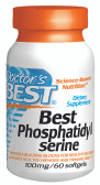 Doctor's Best Phosphatidyl Serine 60 Softgels