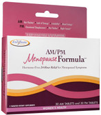 AM PM Menopause Formula 60 Tabs Enzymatic Therapy