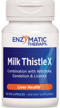 Milk Thistle X 60 UltraCaps Enzymatic Therapy, Liver