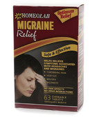 Migraine Relief Tablets 63 Tabs Homeolab