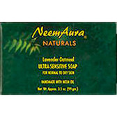 Ultra-Sensitive Soap Cornmeal/Honey 1 Bar, Neem Aura