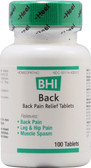 Heel BHI Back 100 Tabs, Lower Back Pain, Leg, Neuralgia