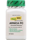 Heel BHI Arnica PC 100 Tabs, Muscle Injury, Mental Stress