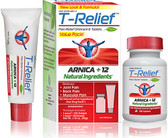 T-Relief Pain Relief Tabs and Ointment, MediNatura (form.Traumeel by Heel)