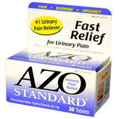 AZO Standard 30 Tabs, I-Health Urinary Pain Relief