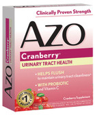 AZO Cranberry Urinary Tract Health 50 Caplets, I-Health