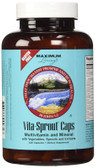 Vita Sprout 120 Caps Maximum Living, Whole Food Multivitamins