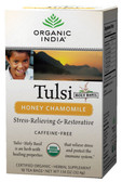 Honey Chamomile 18 Tea Bags, Organic India