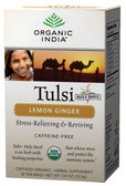Lemon Ginger 18 Tea Bags, Organic India
