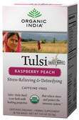 Raspberry Peach 18 Tea Bags, Organic India