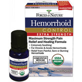 Hemorrhoid Control Extra Strength 11 ml Forces of Nature
