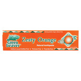Zesty Orange Toothpaste 2.5 oz Green Beaver