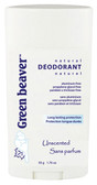 Unscented Deordorant 1.76 oz Green Beaver