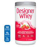 Designer Whey Designer Whey Protein Powder Strawberry 12 oz
