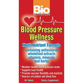 Bio Nutrition Blood Pressure Wellness 60 Tabs
