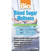 Bio Nutrition Blood Sugar Wellness 60 Caps
