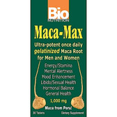 Bio Nutrition Maca-Max 1000 mg Once Daily 30 Tabs