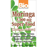 Bio Nutrition Moringa 5000 mg Super Food 60 Caps
