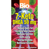 Bio Nutrition 7-Keto DHEA 50 mg 50 Caps Fat Burn