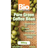 Bio Nutrition Pure Green Bean Coffee 800 mg 50 Softgels