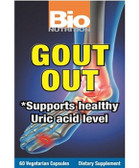 Gout Out 60 VCaps, Bio Nutrition, Healthy Uric Acid Level