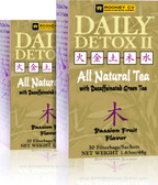 Daily Detox II Passion Fruit 30 Bags Daily Detox