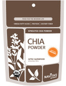 Organic Chia Seed Sprouted Powder 8 oz Navitas Naturals