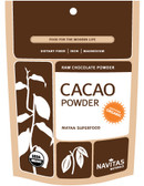Organic Cacao Powder 8 oz Navitas Naturals, Antioxidants, Iron