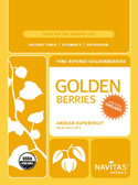 Organic Golden Berries 8 oz Navitas Naturals, Antioxidants