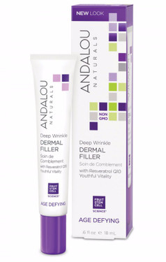 Deep Wrinkle Dermal Filler .6 oz Andalou, Renew, Repair