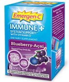 Immune + System Support w Vitamin D Blueberry Acai 10 PKT Alacer