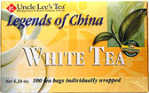 Legends of China White Tea 100 ct Uncle Lee's Teas