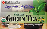 Legends of China Organic Green Tea 100 ct Uncle Lee's Teas