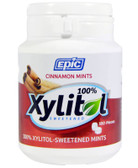 Cinnamon Xylitol Mints 180 ct Epic Xylitol