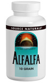 Alfalfa 10 Grain 648 mg 500 Tabs, Source Naturals
