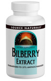 Bilberry Extract 50 mg 120 Tabs, Source Naturals