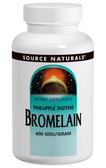 Bromelain 2000 GDU 500 mg 60 Caps, Source Naturals