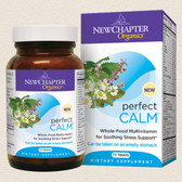Perfect Calm Multivitamin 72 Tabs, New Chapter Organic