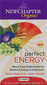 Perfect Energy 36 Tabs, New Chapter Organic
