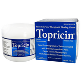 Topricin Cream 4 oz Topical Biomedics, Arthritis, Bursitis