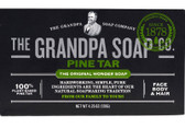 Pine Tar Soap Bath Size 4.25 oz Grandpa's Brands, Psoriasis, Skin Irritation