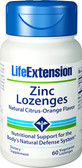 Life Extension, Zinc Lozenges 60 Veggie Lozenges, Immune