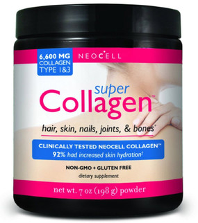 Neocell Super Collagen 7 oz, Joints, Bones, Skin, Hair & Nails